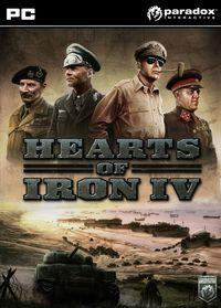 Portada oficial de Hearts of Iron IV para PC