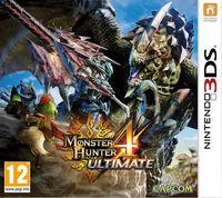 Portada oficial de Monster Hunter 4 Ultimate para Nintendo 3DS