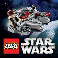 Portada oficial de LEGO Star Wars: Microfighters para iPhone