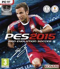 Portada oficial de Pro Evolution Soccer 2015 para PC
