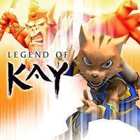 Portada oficial de Legend of Kay PSN para PS3