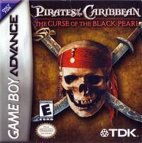 Portada oficial de Pirates of the Caribbean para Game Boy Advance
