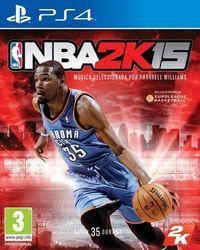 Portada oficial de NBA 2K15 para PS4