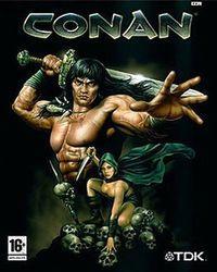 Portada oficial de Conan para GameCube