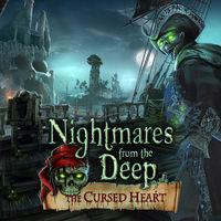 Portada oficial de Nightmares from the Deep: The Cursed Heart para PS4
