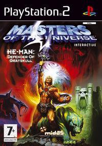 Portada oficial de He-Man: Masters del Universo para PS2