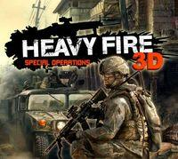 Portada oficial de Heavy Fire: Special Operations 3D eShop para Nintendo 3DS