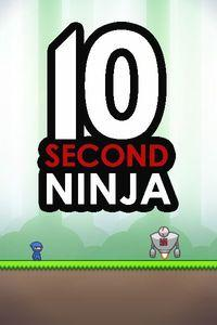 Portada oficial de 10 Second Ninja para PC