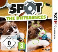 Portada oficial de Spot the Differences! eShop para Nintendo 3DS