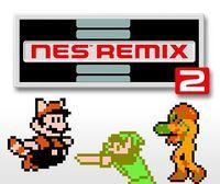 Portada oficial de NES Remix 2 eShop para Wii U