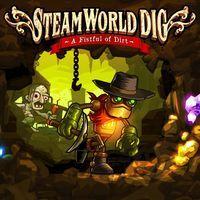Portada oficial de SteamWorld Dig PSN para PSVITA