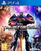Portada oficial de de Transformers: Rise of the Dark Spark para PS4