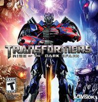 Portada oficial de Transformers: Rise of the Dark Spark para PC