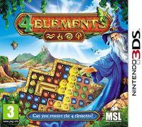 Portada oficial de 4 Elements para Nintendo 3DS