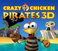 Portada oficial de Crazy Chicken Pirates 3D eShop para Nintendo 3DS