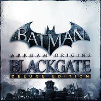 Portada oficial de Batman: Arkham Origins Blackgate - Deluxe Edition PSN para PS3