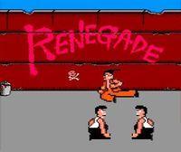 Portada oficial de Renegade CV para Nintendo 3DS