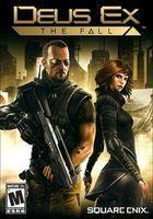 Portada oficial de de Deus Ex: The Fall para PC
