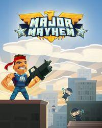 Portada oficial de Major Mayhem para PC