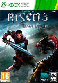 Portada oficial de Risen 3: Titan Lords para Xbox 360