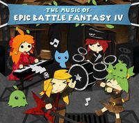 Portada oficial de Epic Battle Fantasy 4 para PC
