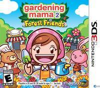 Portada oficial de Gardening Mama: Forest Friends para Nintendo 3DS