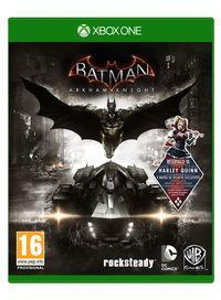 Portada oficial de Batman: Arkham Knight para Xbox One
