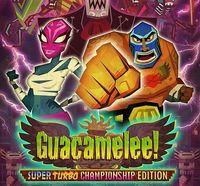 Portada oficial de Guacamelee! Super Turbo Championship Edition para PS4