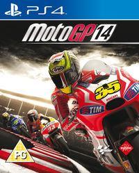Portada oficial de MotoGP 14 para PS4