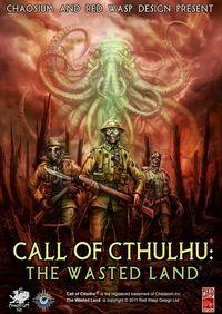 Portada oficial de Call of Cthulhu: The Wasted Land para PC