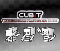 Portada oficial de Cubit The Hardcore Platformer Robot eShop para Nintendo 3DS
