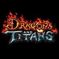 Portada oficial de Dragons and Titans para PC
