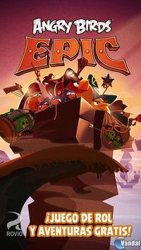 Portada oficial de Angry Birds Epic para Android