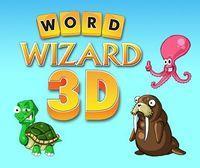 Portada oficial de Word Wizard 3D eShop para Nintendo 3DS