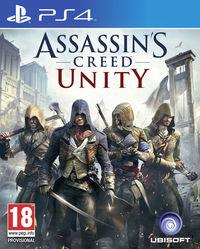 Portada oficial de Assassin's Creed Unity para PS4