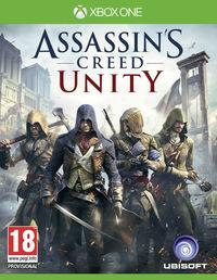 Portada oficial de Assassin's Creed Unity para Xbox One