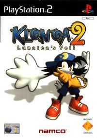 Portada oficial de Klonoa 2: Lunatea's Veil para PS2