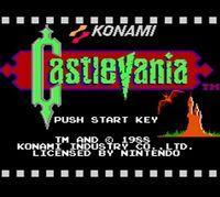 Portada oficial de Castlevania CV para Wii U