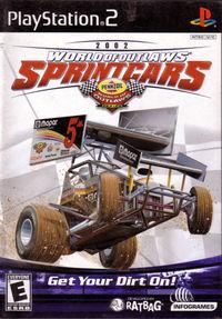 Portada oficial de World of Outlaw: Sprint Cars para PS2