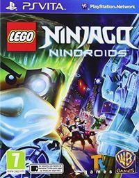 Portada oficial de LEGO Ninjago: Nindroids para PSVITA