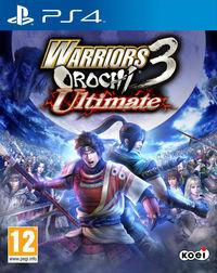 Portada oficial de Warriors Orochi 3 Ultimate para PS4