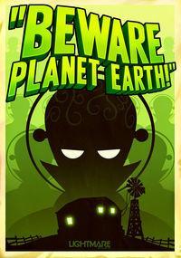 Portada oficial de Beware Planet Earth! para PC