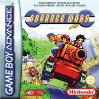 Portada oficial de Advance Wars CV para Wii U