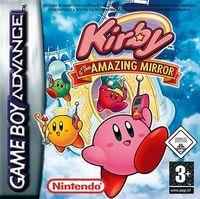 Portada oficial de Kirby y el Laberinto de Espejos CV para Wii U