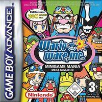 Portada oficial de Wario Ware Inc.: Minigame Mania CV para Wii U