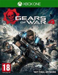 Portada oficial de Gears of War 4 para Xbox One
