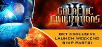Portada oficial de Galactic Civilizations III para PC