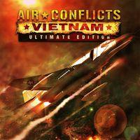 Portada oficial de Air Conflicts: Vietnam Ultimate Edition para PS4