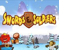 Portada oficial de Swords & Soldiers HD eShop para Wii U