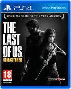 Portada oficial de de The Last of Us Remasterizado para PS4